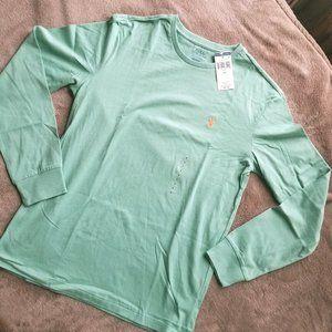 Polo Ralph Lauren - Mint Green Long Sleeve Tee (S)